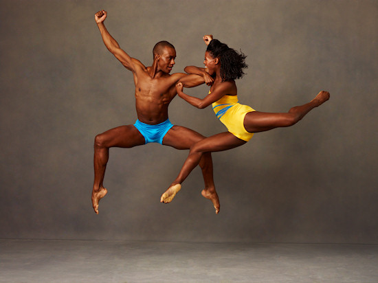 Alvin Ailey American Dance Theater's Kirven James Boyd and Rachael McLaren