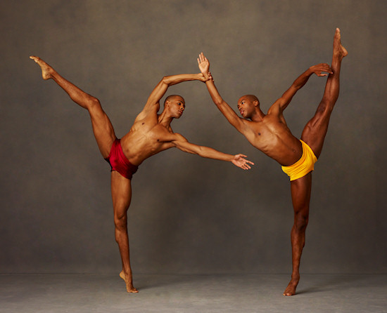 Alvin Ailey American Dance Theater's Yannick Lebrun and Antonio Douthit