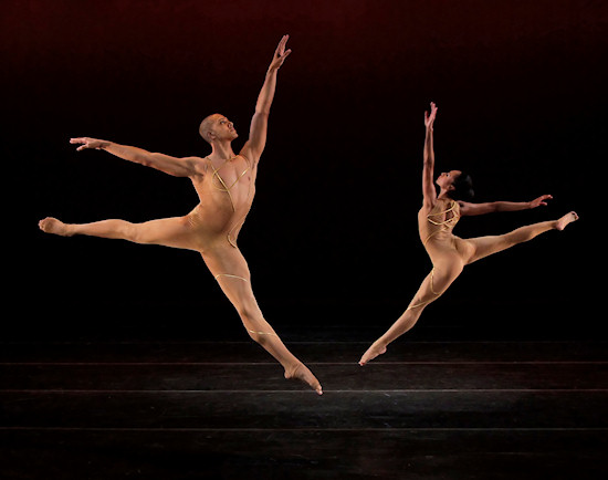 Alvin Ailey American Dance Theater's Clifton Brown and Linda Celeste Sims