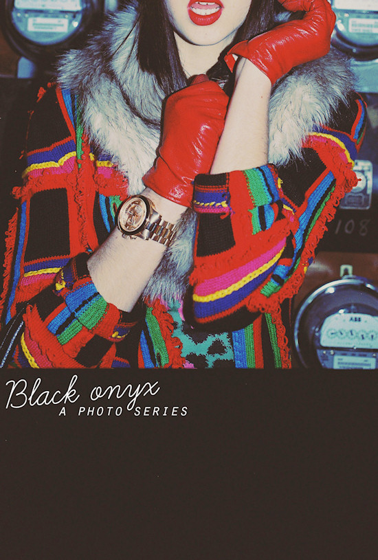Black Onyx Photo Series: Model Kara Gall