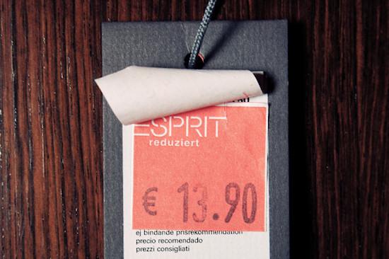 Esprit Essentials Reduced Price Tag: EUR 13.90