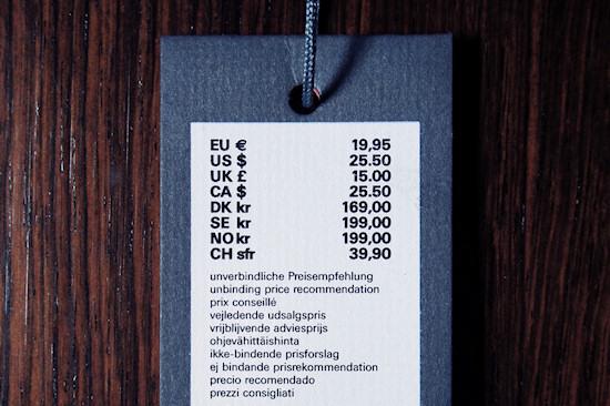 Esprit Essentials Price Tag: Original Price EUR 19.95