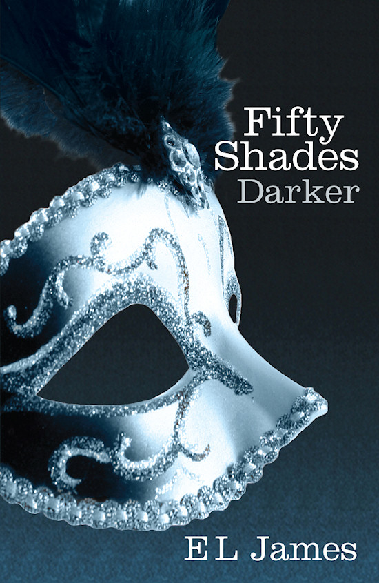 Book Cover: Fifty Shades Darker by E L James