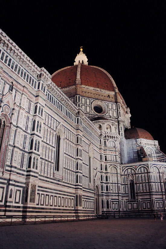 Florence: The dome of the Basilica di Santa Maria del Fiore