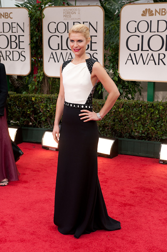Claire Danes @ Golden Globe Awards 2012