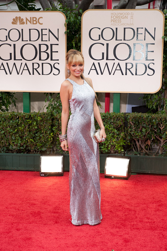 Nicole Richie @ Golden Globe Awards 2012