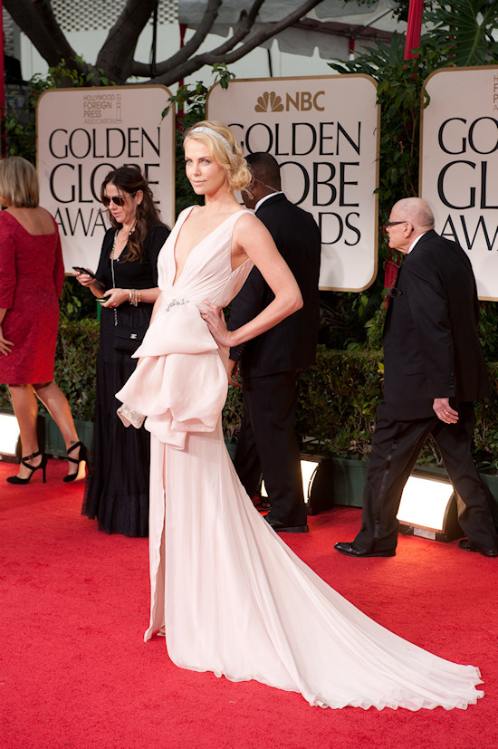 Charlize Theron @ Golden Globe Awards 2012