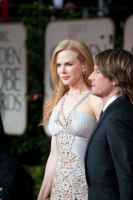 Nicole Kidman @ Golden Globe Awards 2012