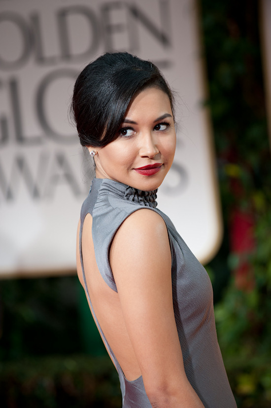 Naya Rivera @ Golden Globe Awards 2012