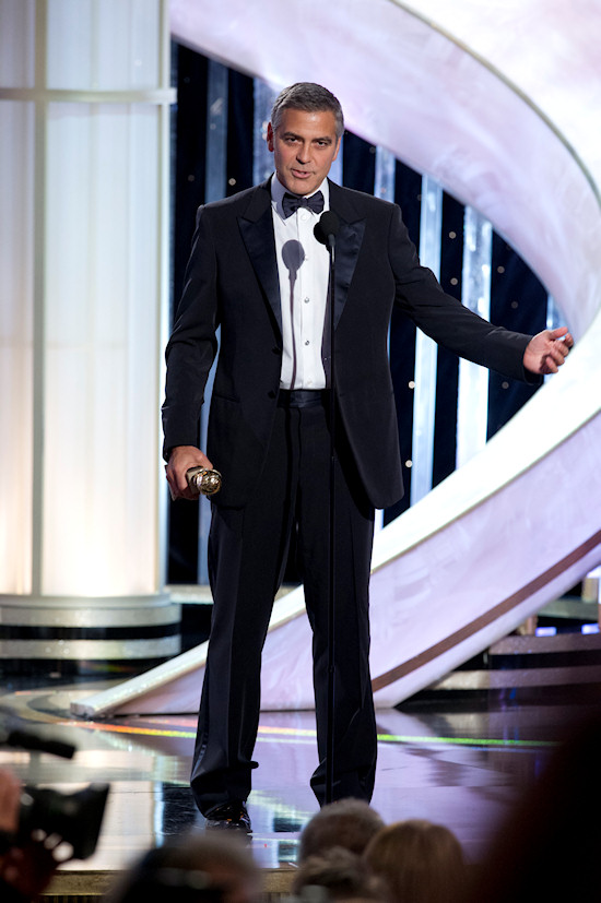 George Clooney @ Golden Globe Awards 2012