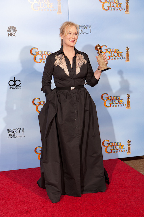Meryl Streep @ Golden Globe Awards 2012