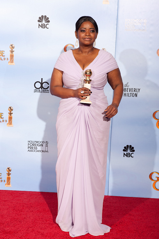 Octavia Spencer @ Golden Globe Awards 2012