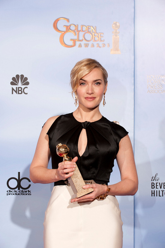 Kate Winslet @ Golden Globe Awards 2012