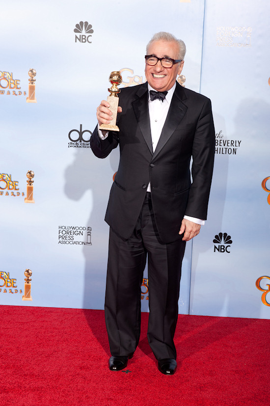 Martin Scorsese @ Golden Globe Awards 2012