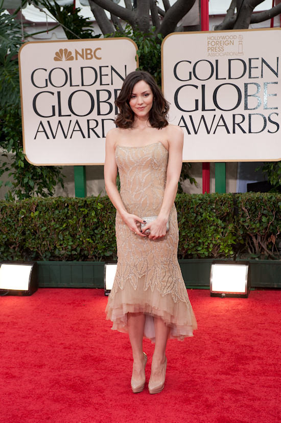 Katharine McPhee @ Golden Globe Awards 2012