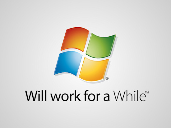 Honest Logos by Viktor Hertz: A Homage to Windows