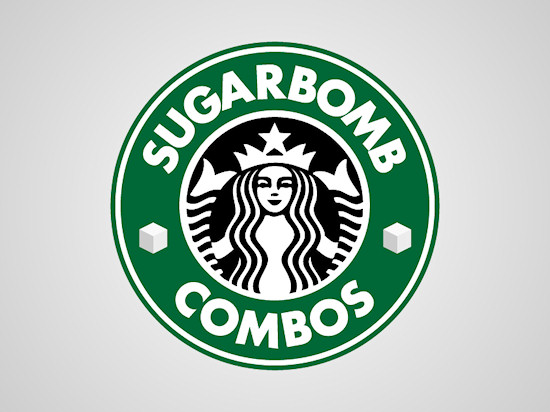 Honest Logos by Viktor Hertz: A Homage to Starbucks