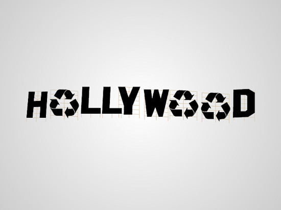 Honest Logos by Viktor Hertz: A Homage to Hollywood