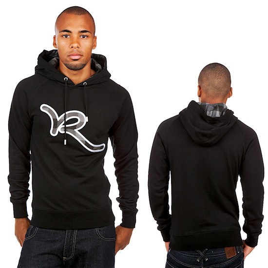 Rocawear Checked R Hoody / Black