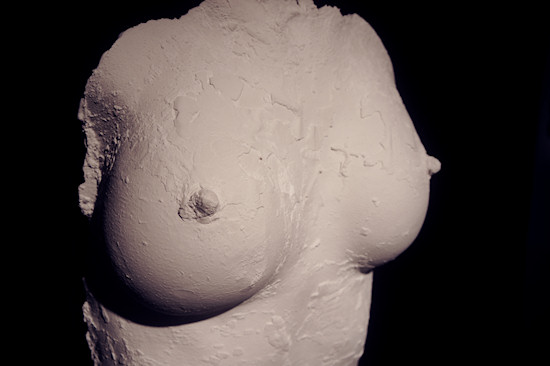 Plaster Sculpture by Juno: Female Torso