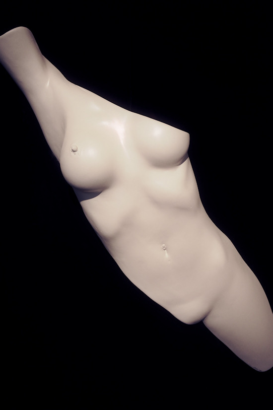 Plaster Sculpture by Juno: Female Body