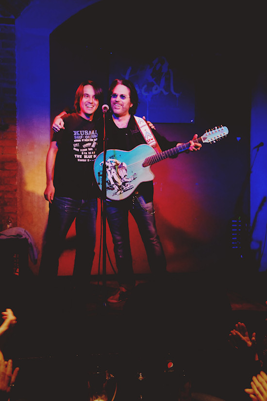Kip Winger Europe Tour 2012 @ local bar in Vienna