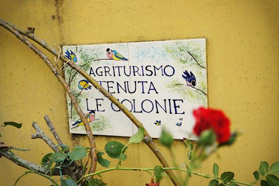 Agriturismo Tenuta Le Colonie Sign