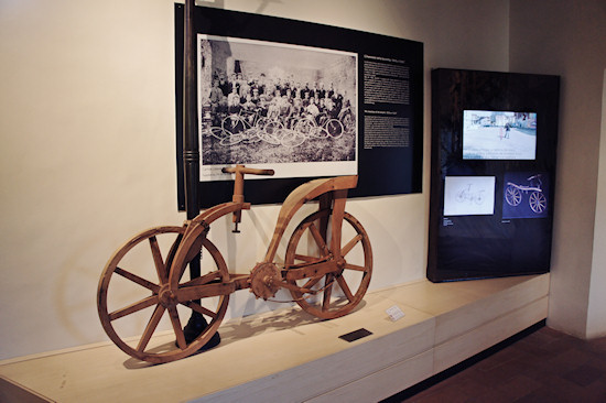 Leonardo da Vinci's Bicycle