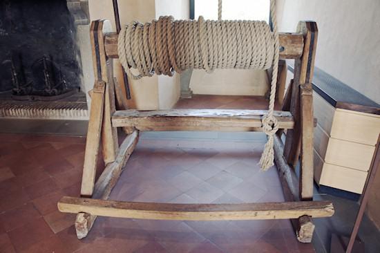 Rope Winch @ Leonardo da Vinci Museum