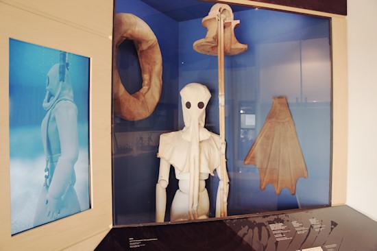 Diver's Breathing Apparatus @ Leonardo da Vinci Museum