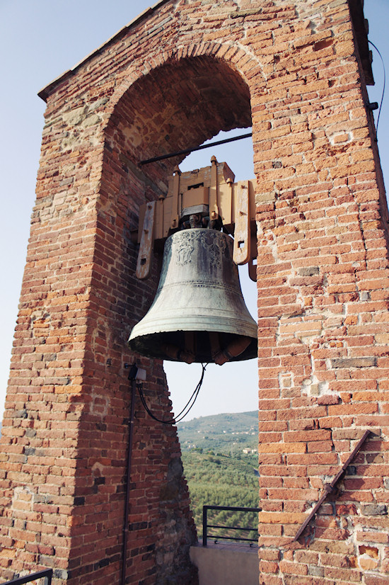 Bell at the Conti Guidi Castle