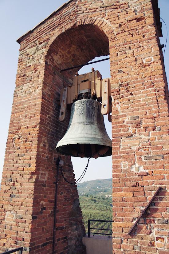 Bell at the Conti Guidi Castle