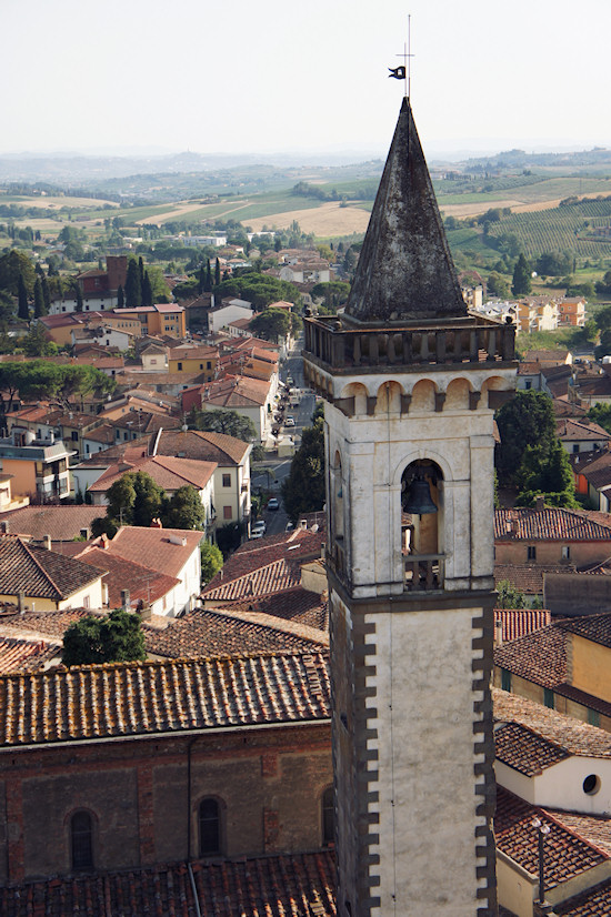 Church Of The Holy Cross in Vinci, Italy