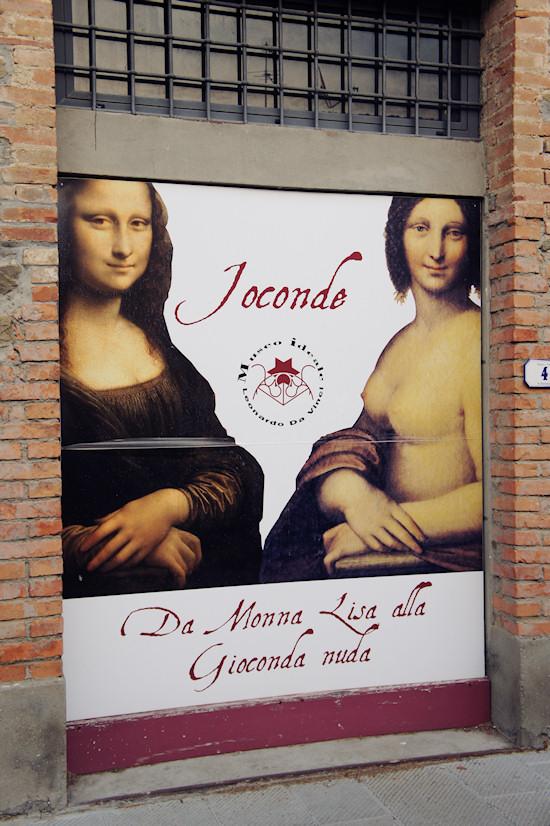 Nude Mona Lisa @ Museo Ideale