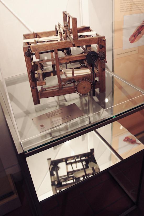Automatic Weaving Loom @ Leonardo da Vinci Museum