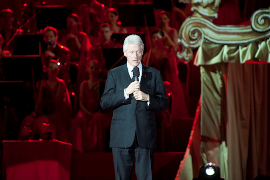Bill Clinton @ Life Ball 2012