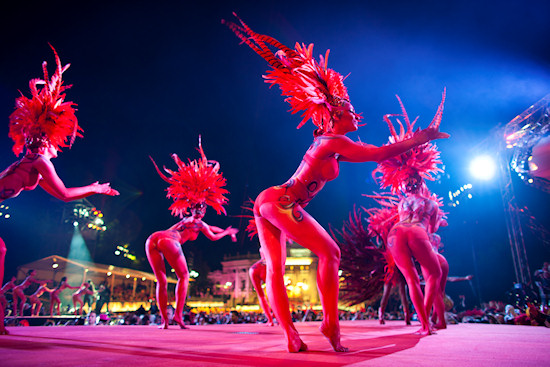 Venus Dancers @ Life Ball 2012