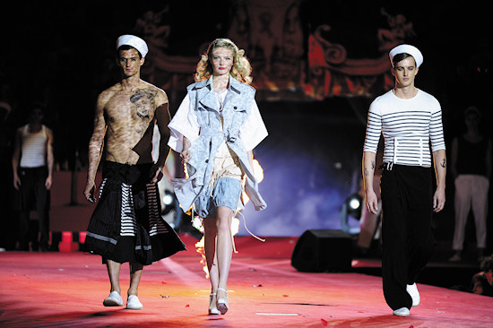 Fashion Show Jean Paul Gaultier @ Life Ball 2012