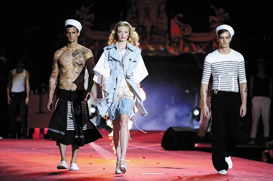 Fashion Show Jean Paul Gaultier @ Life Ball 2012