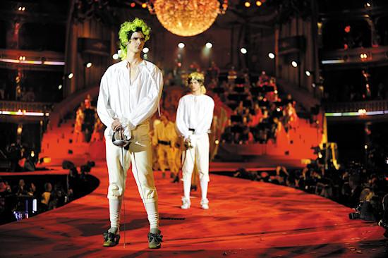 Fashion Show Vivienne Westwood @ Life Ball 2012
