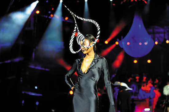 Fashion Show Philip Treacy @ Life Ball 2012