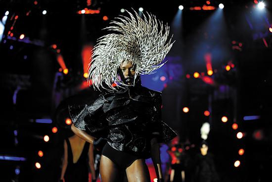 Fashion Show Philip TreacyLife Ball 2012