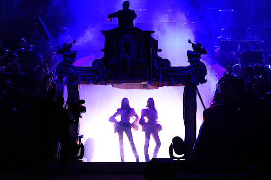 Fashion Show Opening Life Ball 2012