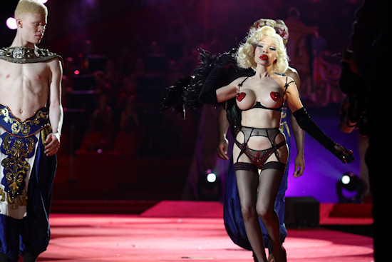 Amanda Lepore @ Life Ball 2012 Fashion Show