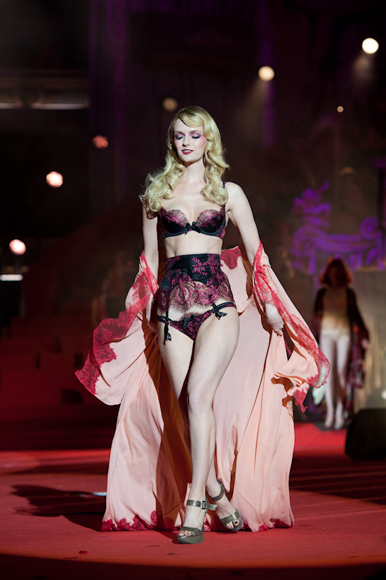 Lydia Heart in lingerie by Agent Provocateur @ Life Ball 2012