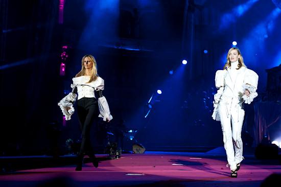 Karolina Kurkova and Eva Riccobono @ Life Ball 2012