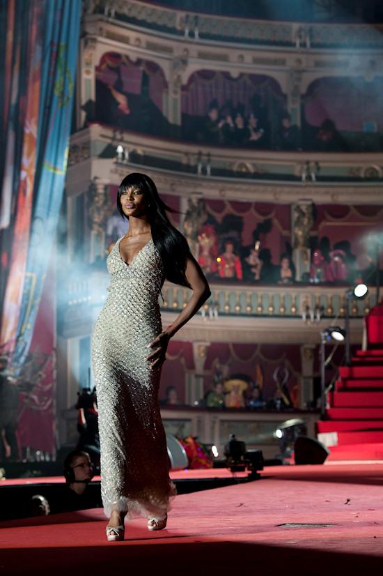 Naomi Campbell @ Life Ball 2012 Fashion Show
