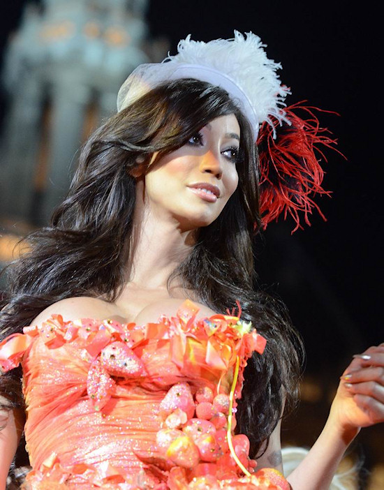 Yasmine Petty @ Life Ball 2012 Fashion Show
