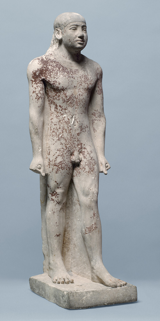 Nude Men: Standing Figure of the Court OfficialSnofrunefer. Egyptian, Old Empire, late 5th Dynasty, circa 2400 B.C.