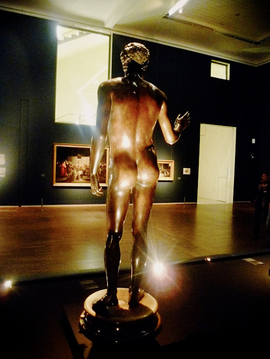 Nude Men: Replica from the 16th century of the Roman statue Youth from Magdalensberg